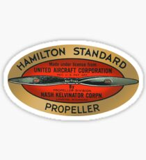 Hamilton Standard Variable Propellors Sticker