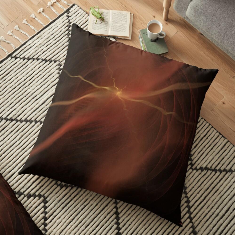 Thunder Floor Pillow