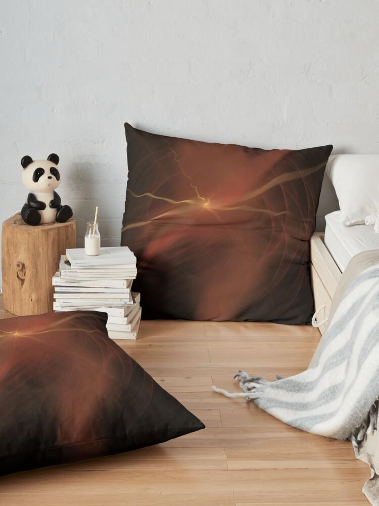 Alternate view of Thunder Floor Pillow