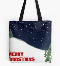 Merry Christmas Card Tote Bag