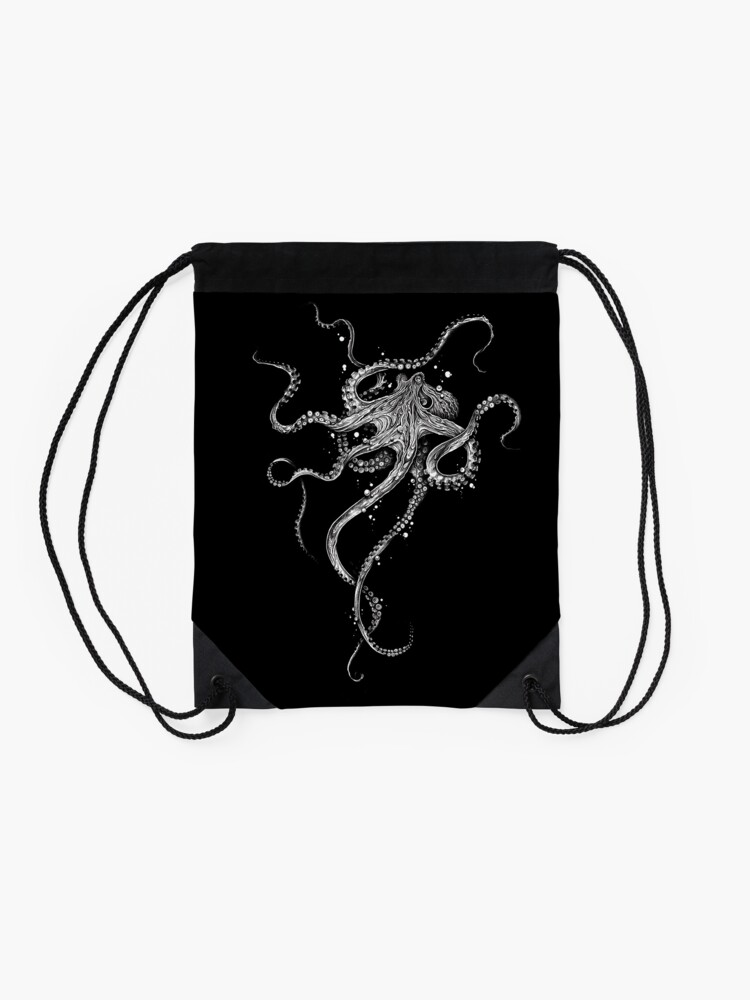 Alternate view of Octopus Drawstring Bag