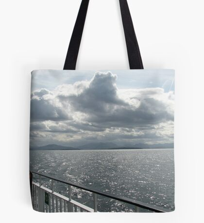 Strange Cloud Formation Over The Minch Tote Bag