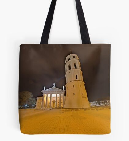 Cathedral of Vilnius Tote Bag