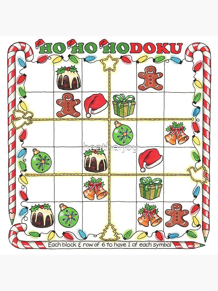 Christmas Sudoku.A Merry Christmas Sudoku Tote Bag