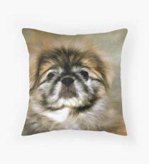 Max the Pekingese Throw Pillow