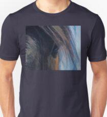 Bay Quarterhorse Named Jack - Portrait Unisex T-Shirt