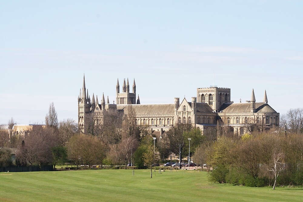 Peterborough Cathedral by mickyman13