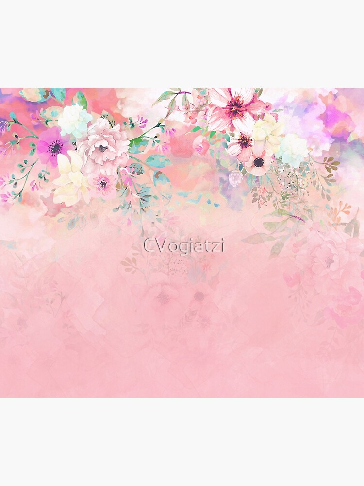 Botanical Fragrances in Blush Cloud-Ιmmersed by CVogiatzi