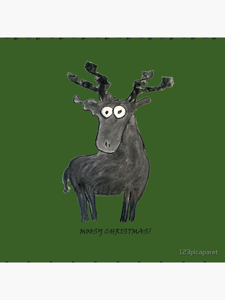 Moosy Christmas by 123picaparet