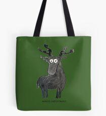 Moosy Christmas Tote Bag