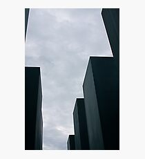 Giants Remember, Berlin Holocaust Memorial Photographic Print