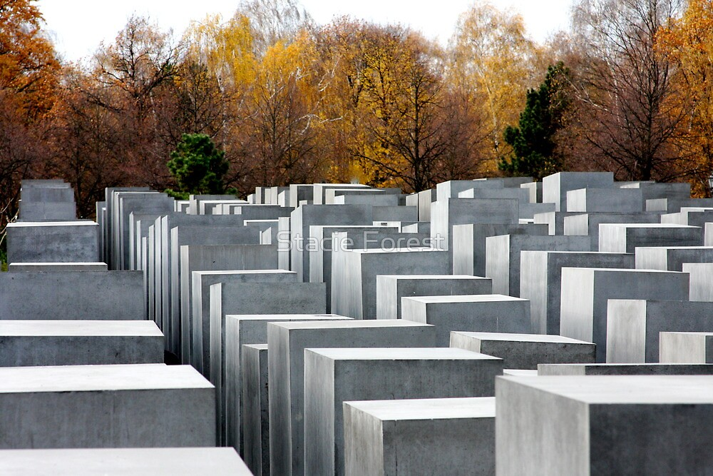 Berlin Holocaust Memorial by Stacie Forest