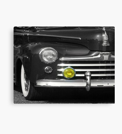 Classic with Yellow Light Canvas Print