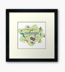 Ask me about MICROBES Framed Print