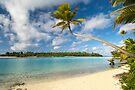 One Foot Island, Aitutaki. by Michael Treloar