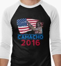Camacho 2016 Men's Baseball ¾ T-Shirt