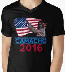 Camiseta de cuello en V Camacho 2016