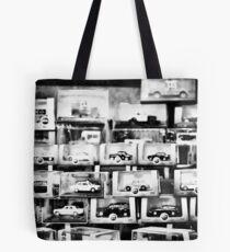 Automobiles Tote Bag
