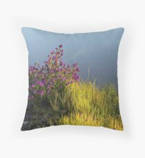 Riverina Bluebell Throw Pillow
