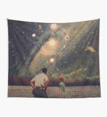 Light Explosions In Our Sky Wall Tapestry
