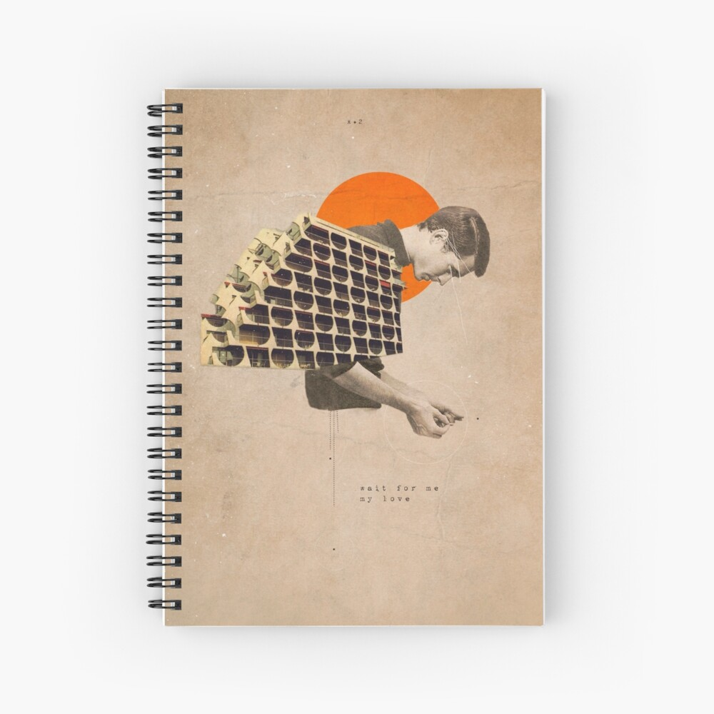 Wait For Me Spiral Notebook