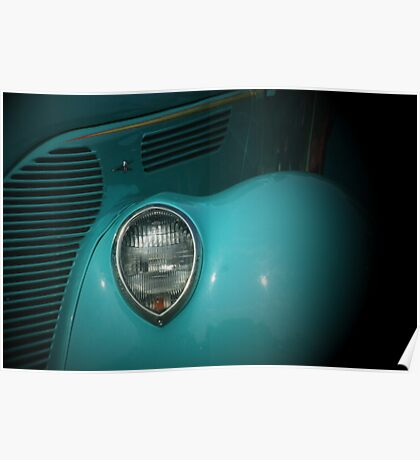 Classic in Turquoise Poster