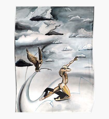 Grey Skies Poster
