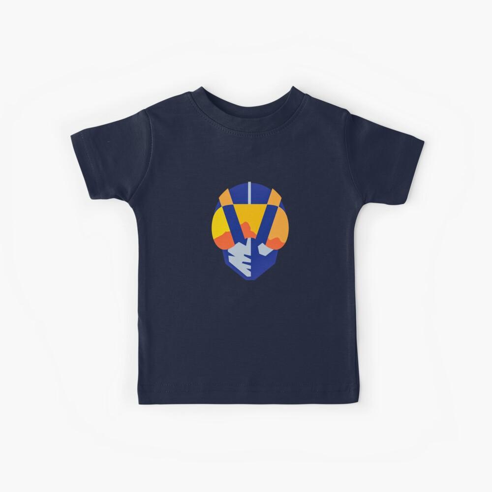 Blue Las Vegas aviators logo Kids T-Shirt
