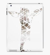 Silver Giraffe iPad Case/Skin