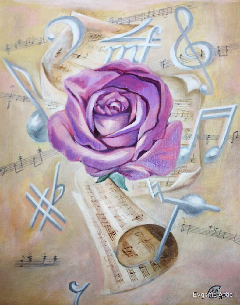 Pink rose symphony by Evgenia Attia