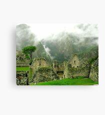 Machu Picchu Místico Canvas Print
