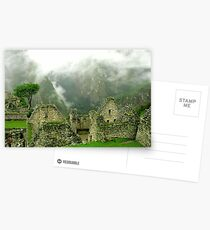 Machu Picchu Místico Postcards