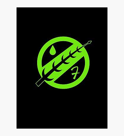 Minimal Fett Logo Photographic Print