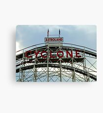 Astroland Cyclone Canvas Print