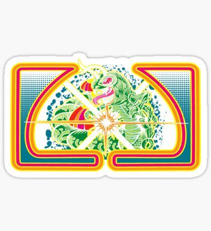 Classic Centipede Woodcut Sticker