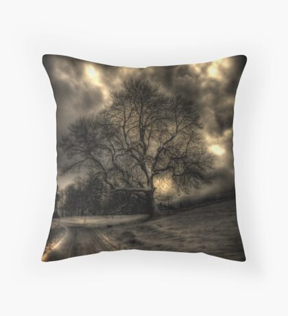 My Favourite Tree - The Haunting Throw Pillow
