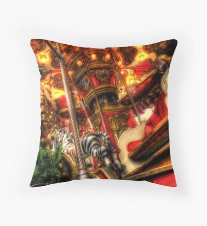 Carousel in Constance Throw Pillow