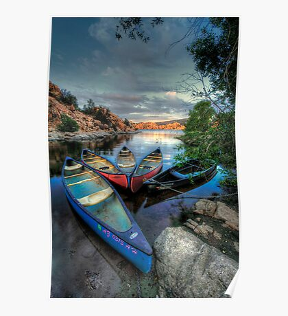 Rogue Canoes Poster
