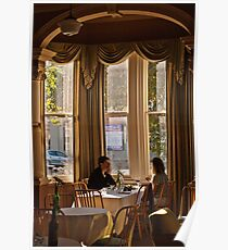 Guests in dining area Portico 20100508 0773 Poster