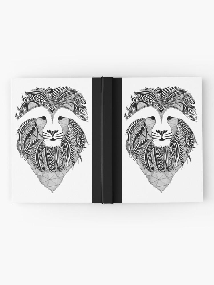 Vista alternativa de Cuaderno de tapa dura Lion Dark