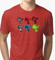 Spiffy Warhol Tri-blend T-Shirt