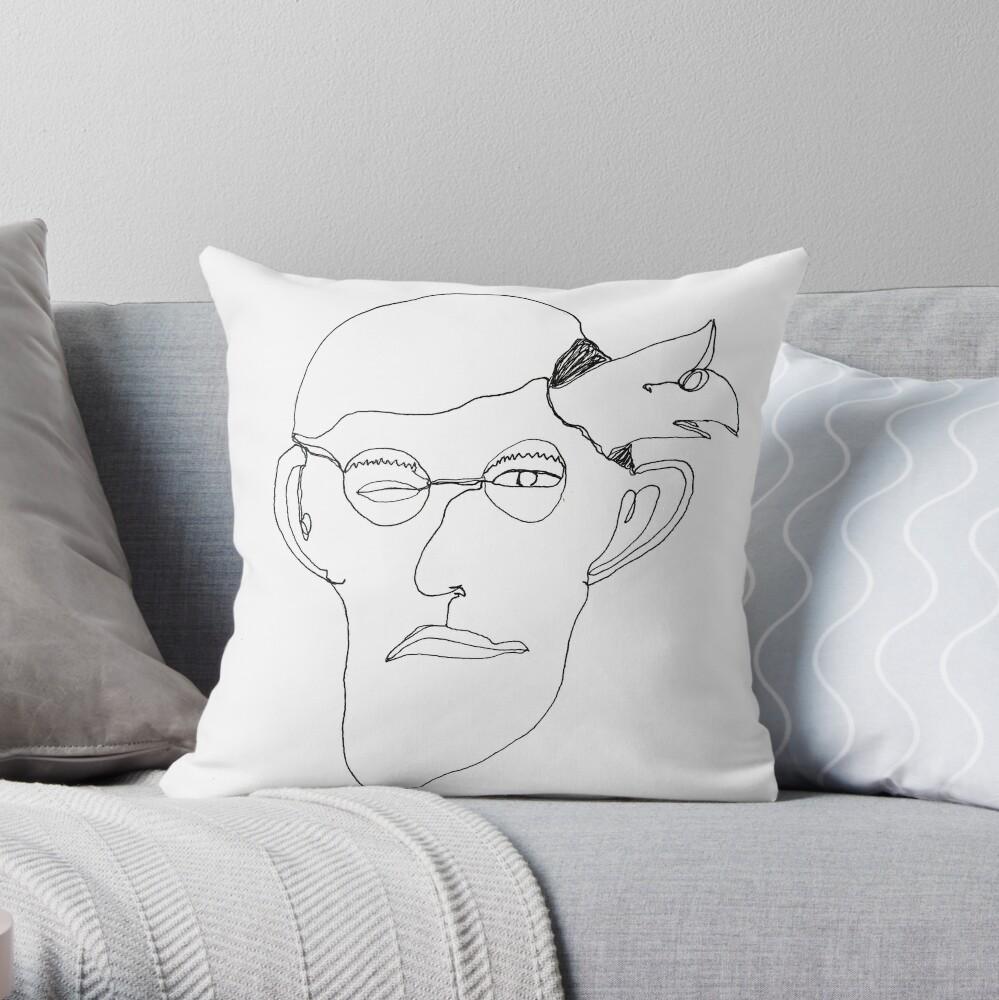 self-portrait Dekokissen