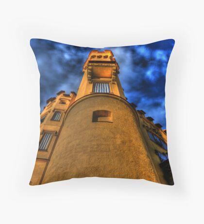 Up Close & Personal - Hohenschwangau Castle Throw Pillow