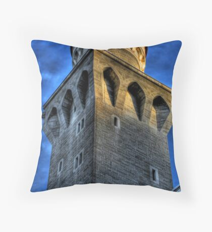 Knight's Tower III Throw Pillow