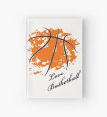 Cuaderno de tapa dura Amor baloncesto