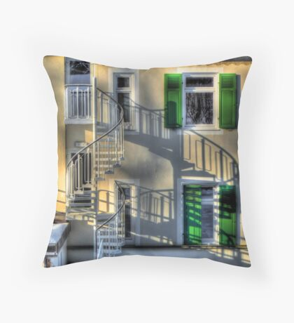 Tuscany in Deutschland Throw Pillow