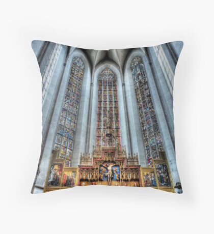 St. James Cathedral, Rothenburg ob der Tauber. Throw Pillow