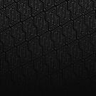 Optical illusion - Impossible Figure -  Balck & White Pattern by badbugs
