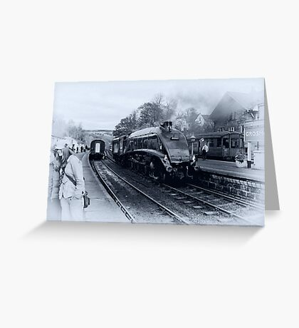 A4 Steam Train - Grosmont Greeting Card