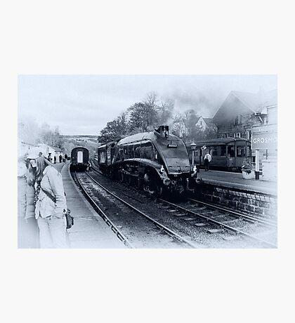 A4 Steam Train - Grosmont Photographic Print
